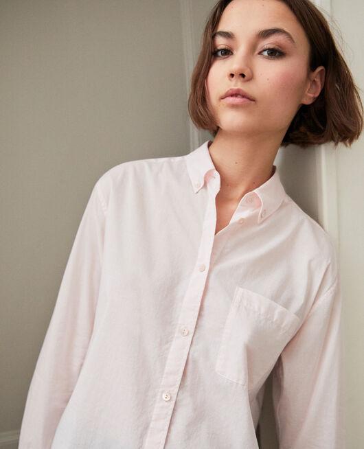 Camisa atemporal de algodón PINK