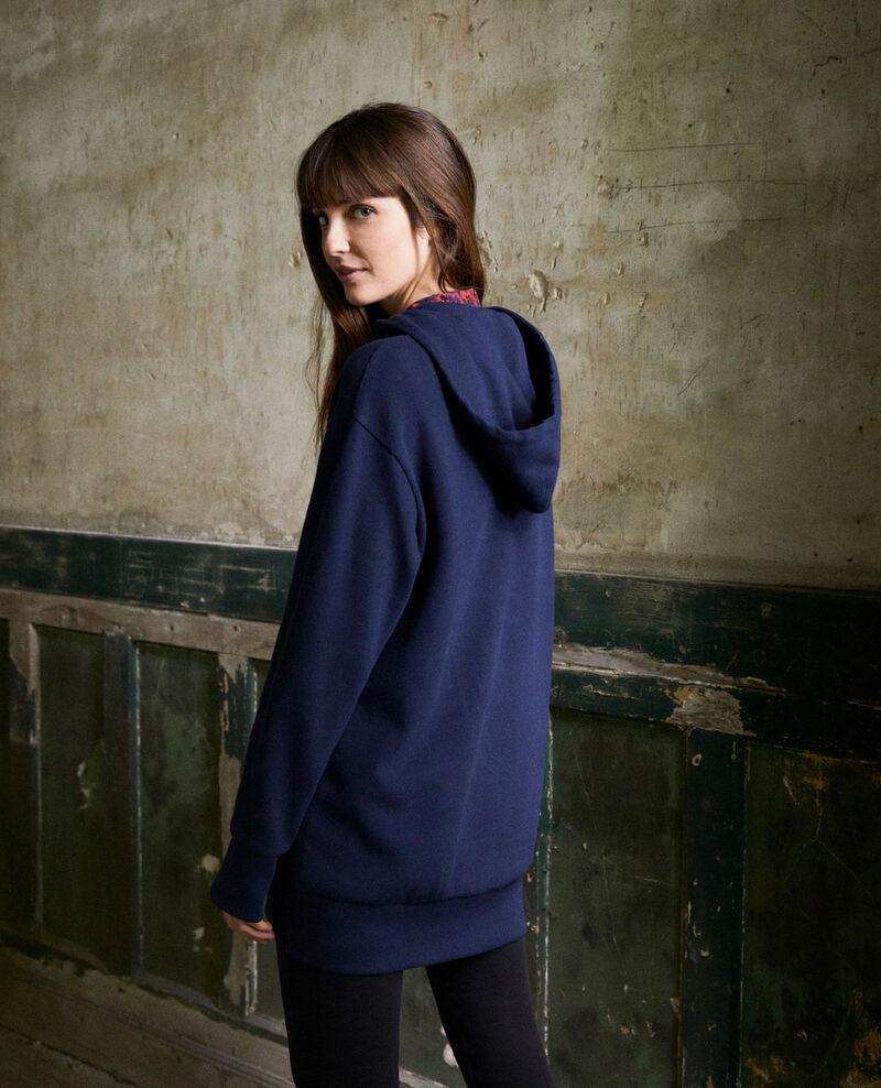 Sudadera con capucha Dark navy Jasette