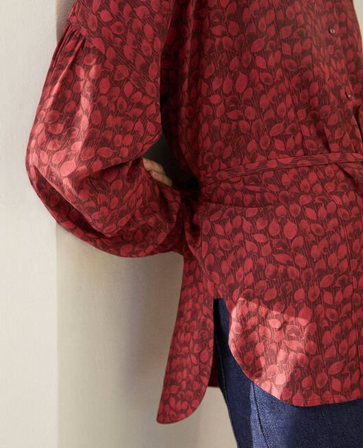 Blusa de corte amplio LD RIO RED