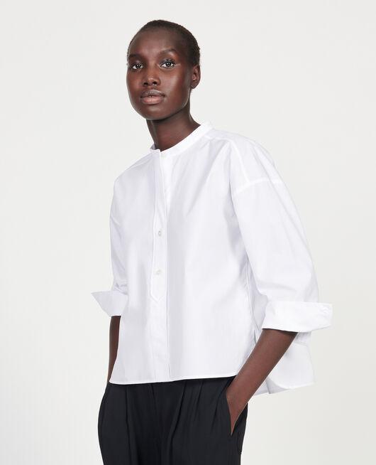 Blusa de algodón OPTICAL WHITE