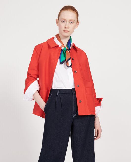 Chaqueta de algodón FIERY RED