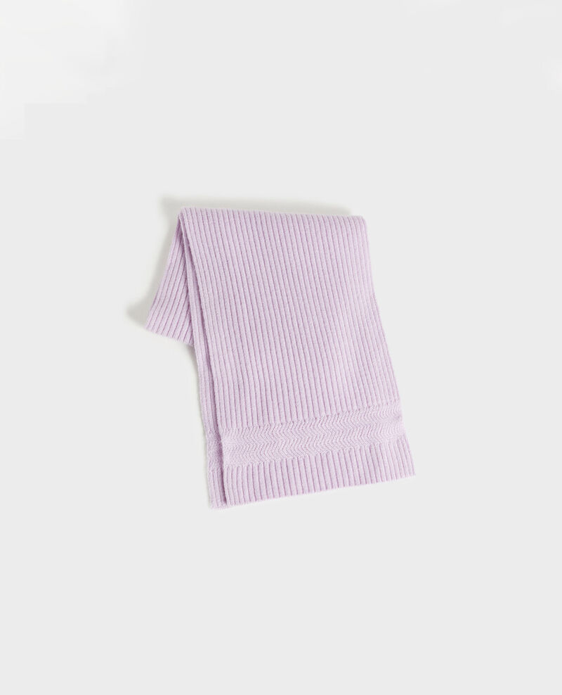 Bufanda de cachemir Pastel lilac Miosa