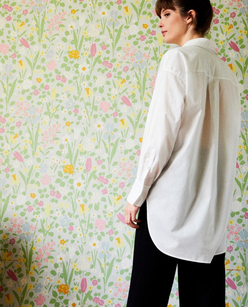 Camisa larga oversize Coconut milk Javiera