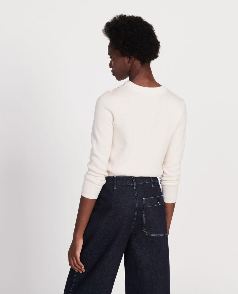 Jersey de lana atemporal Gardenia Logan