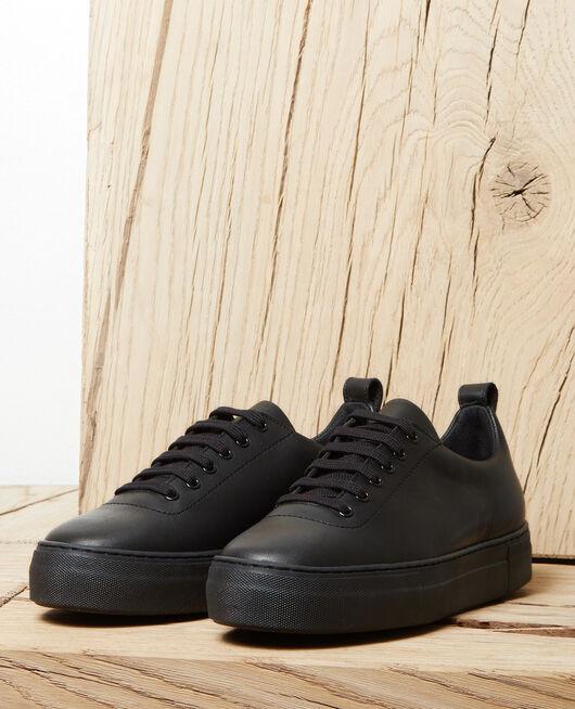 Sneakers con plataforma NOIR