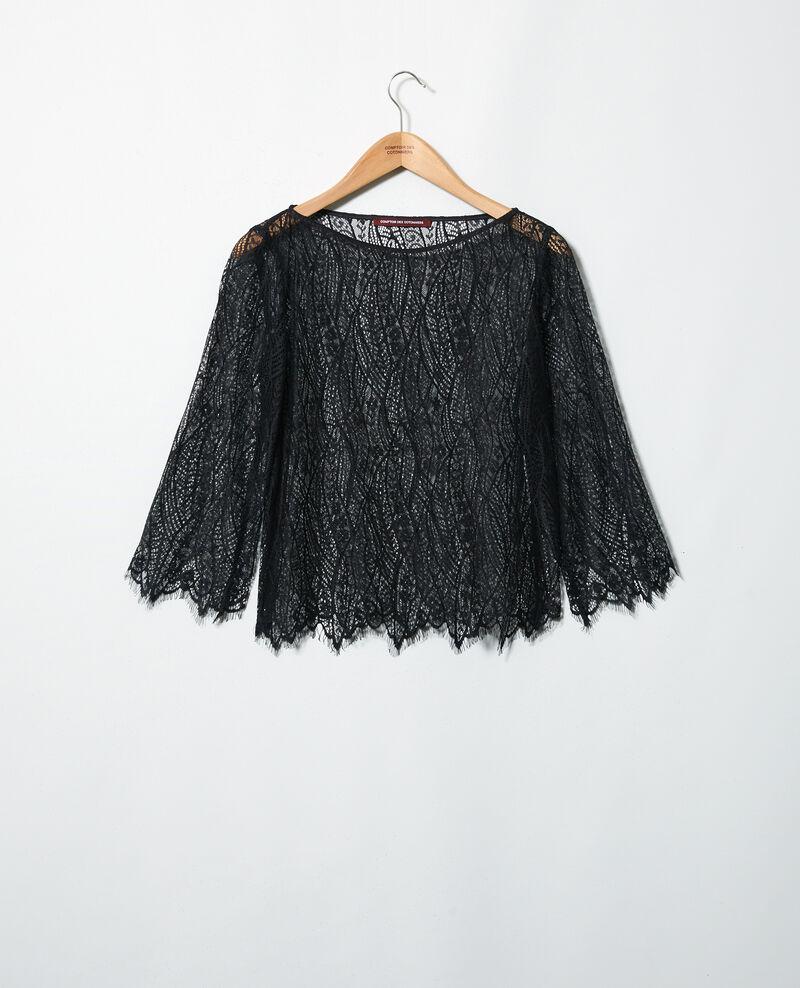 Blusa de encaje  Noir Ilanka