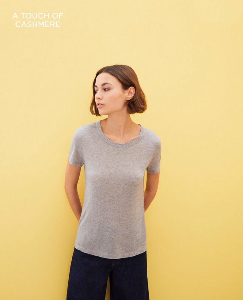 Camiseta atemporal Heather grey Impax