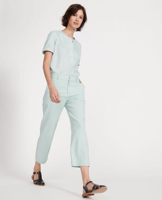 Pantalón de lino BLUE HAZE