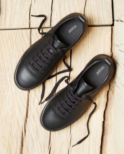 Comptoir des Cotonniers - Sneakers con plataforma Noir - 4