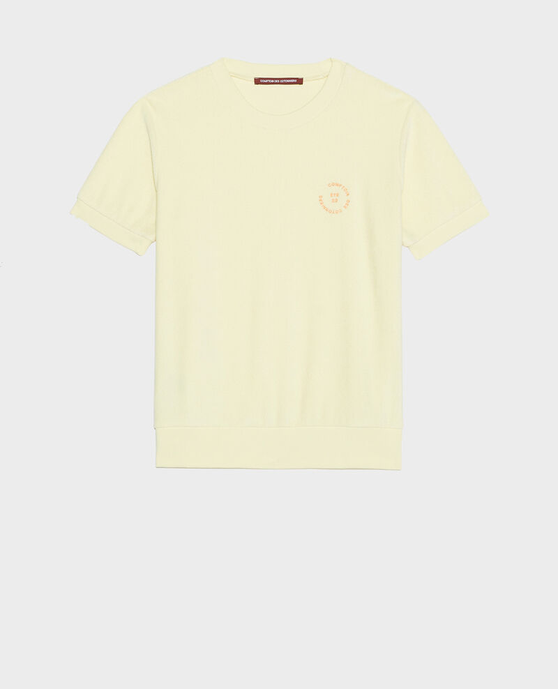 Camiseta de algodón Tender yellow Lis