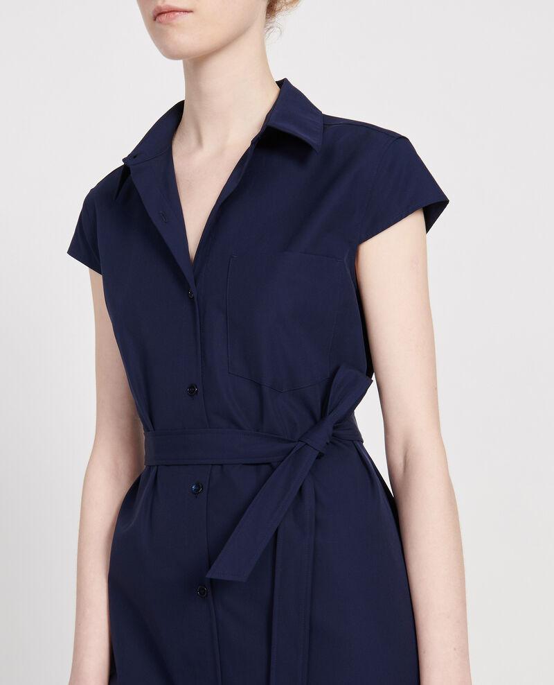 Vestido de algodón Maritime blue Lelumba
