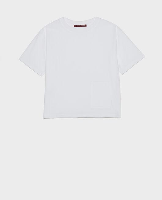 Camiseta oversize OPTICAL WHITE