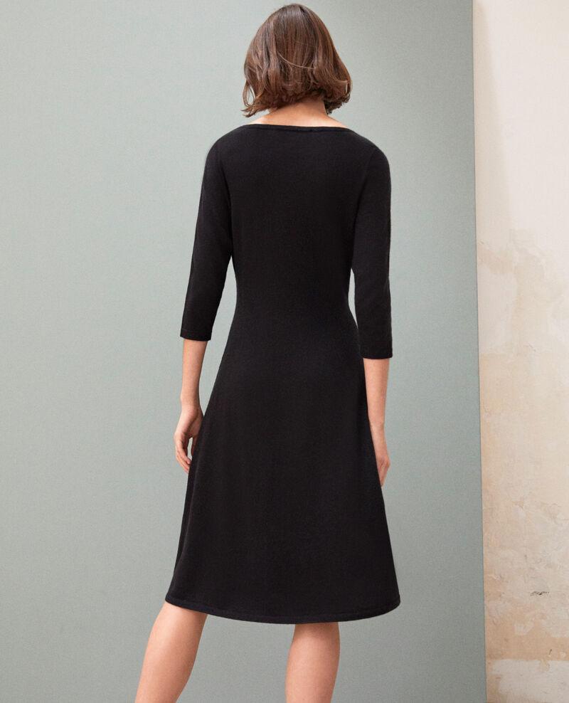 Vestido de lana Noir Irika