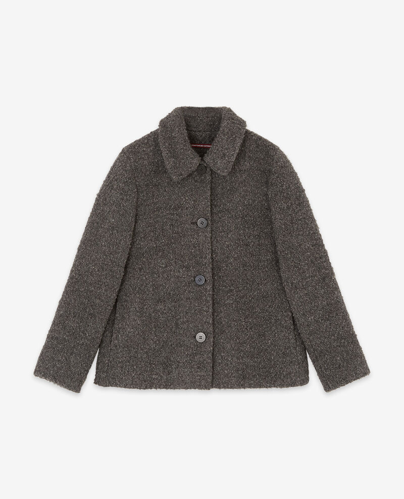 Chaqueta con lana Dark grey Dayonne