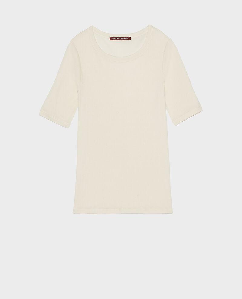 Camiseta de algodón mercerizado Buttercream Lasso