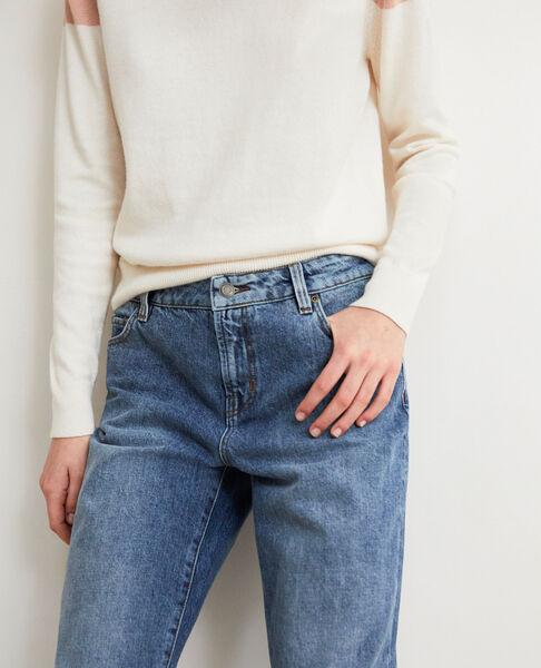 Comptoir des Cotonniers - Jeans straight con abertura Vintage wash - 4