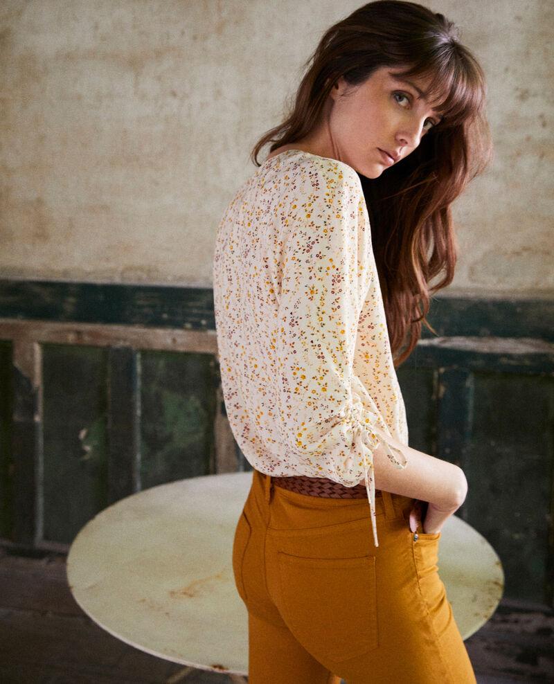 Blusa estampada Daphne buttercream Jars