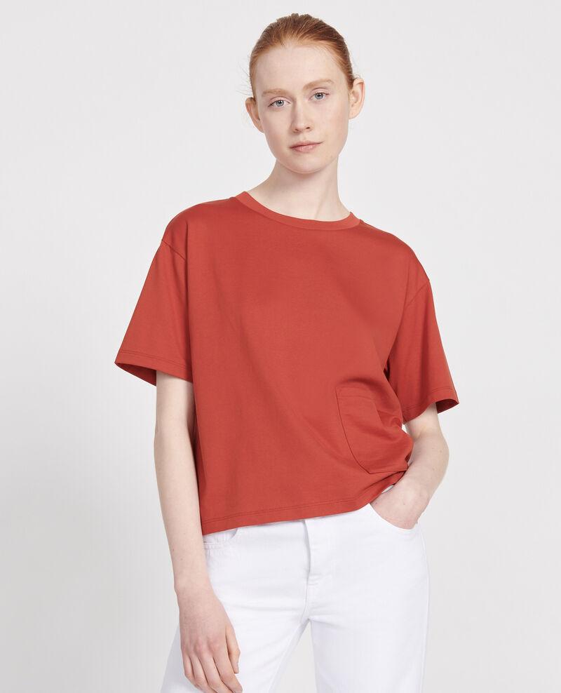 Camiseta oversize de algodón mercerizado Ketchup Lexana