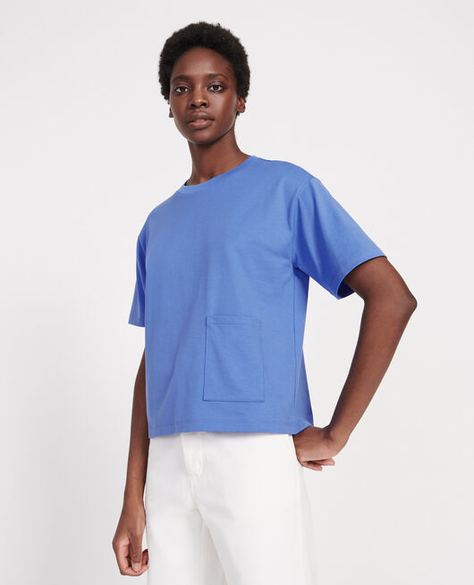 Camiseta oversize de algodón mercerizado PERSIAN JEWEL