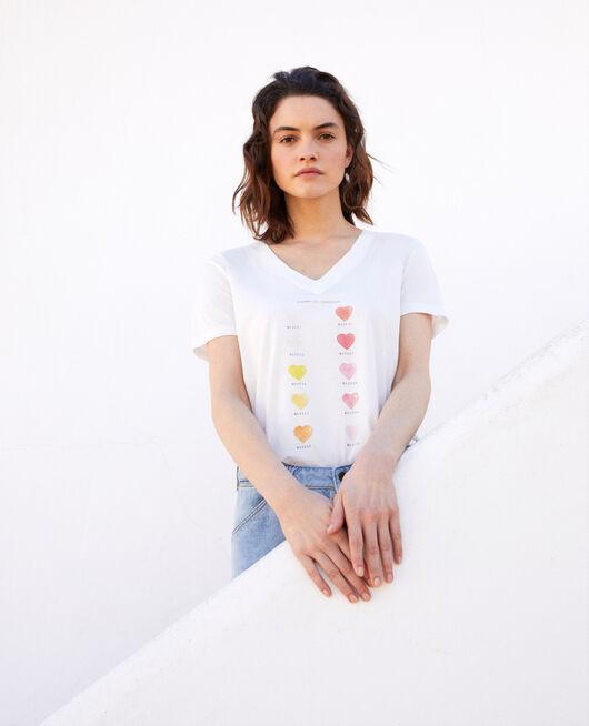 Camiseta en gama de colores OFF WHITE