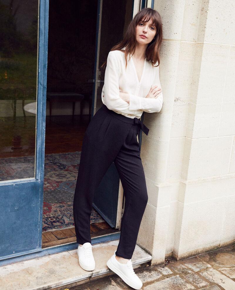 Pantalón estilo árabe Noir Inoise