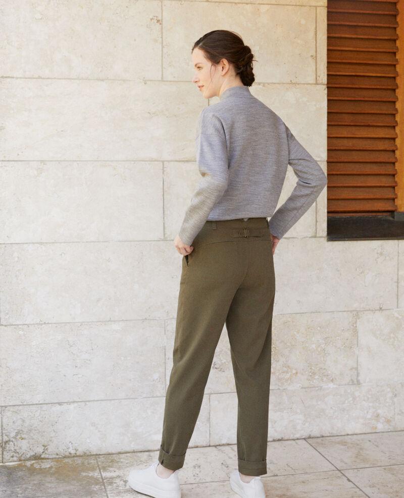 Pantalones chinos Verde Gabini