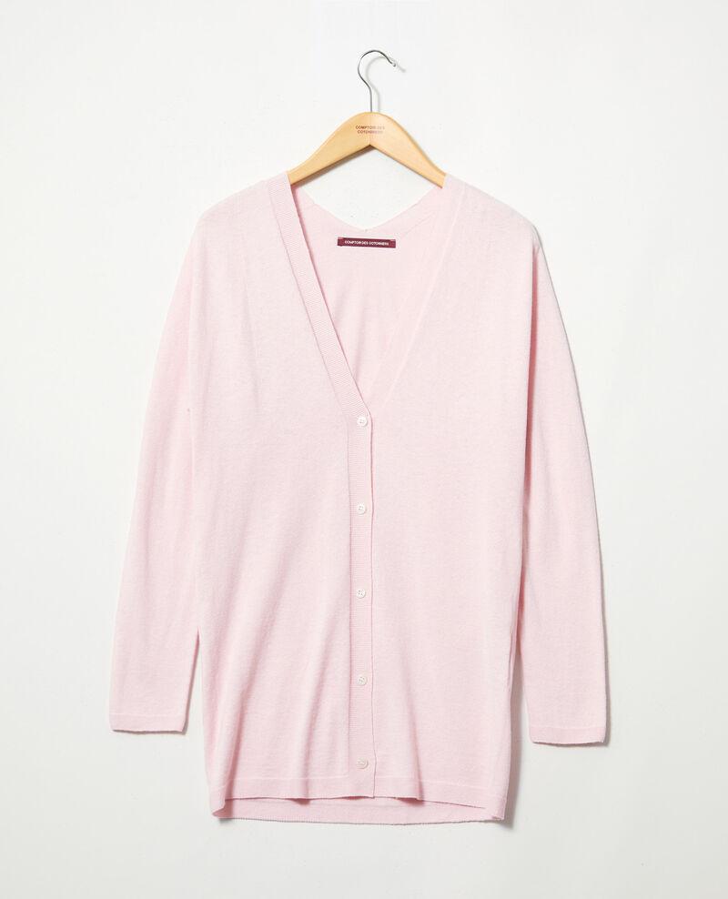 Cárdigan largo Pink icing Ipatique