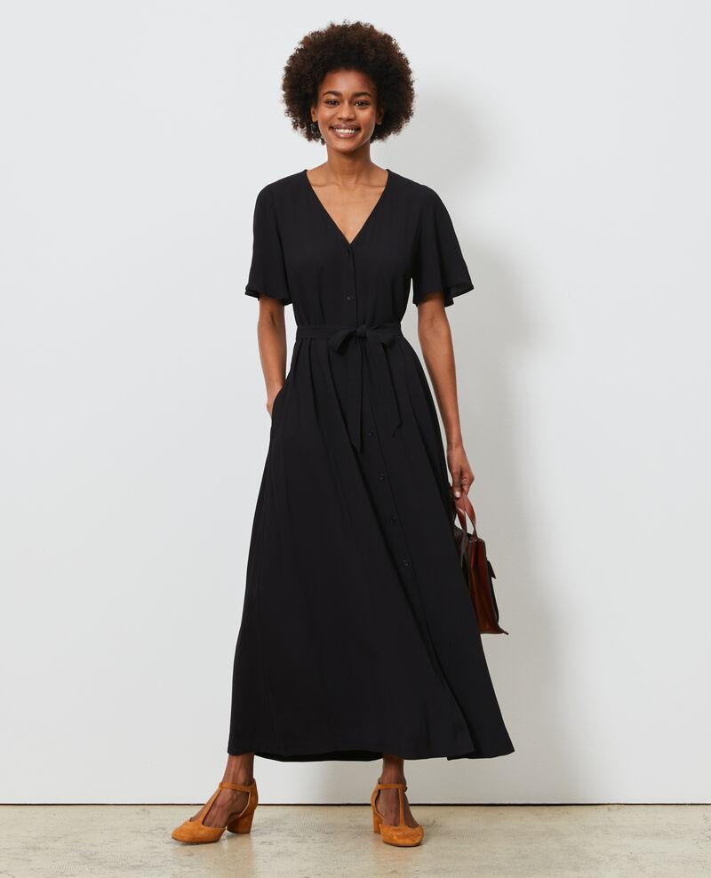 Vestido largo Black beauty Lavish