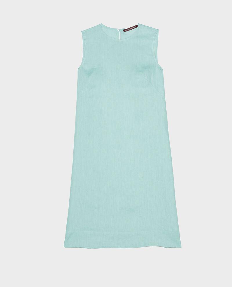 Vestido 100% de lino Blue haze Lux