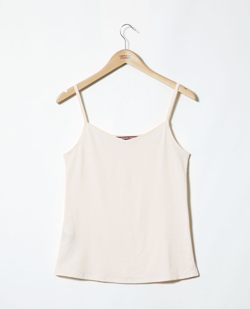 Camiseta con tirantes finos Light pink Gagnant