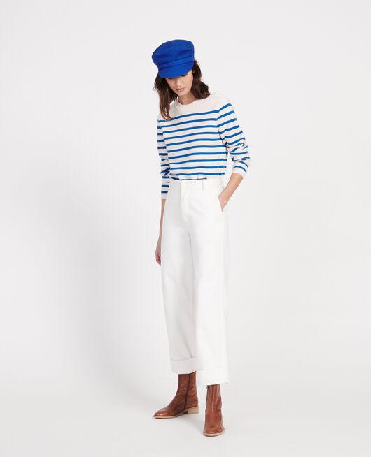 Pantalón con bolsillos OPTICAL WHITE