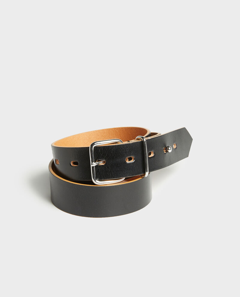 Cinturón de cuero Black beauty Larare