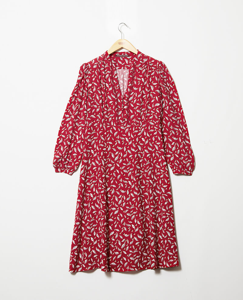 Vestido tipo túnica Earth red Gaetane