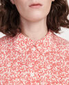 Camisa con estampados Feuillage buttercream Laloun