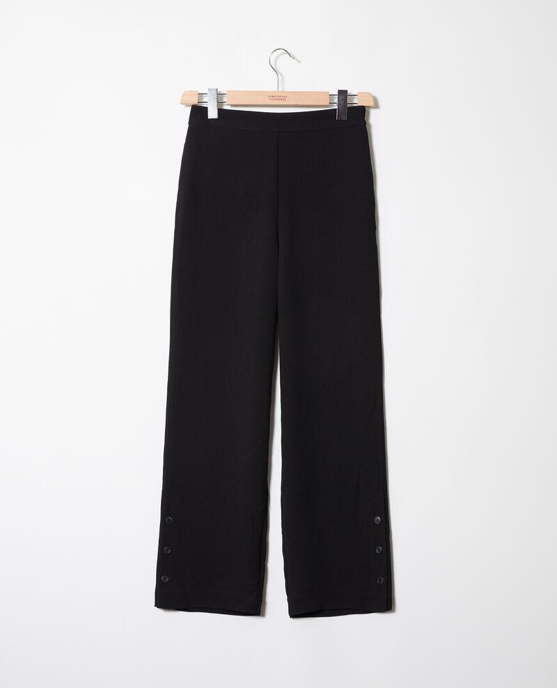 Pantalón con detalle de botones Noir Jovembre