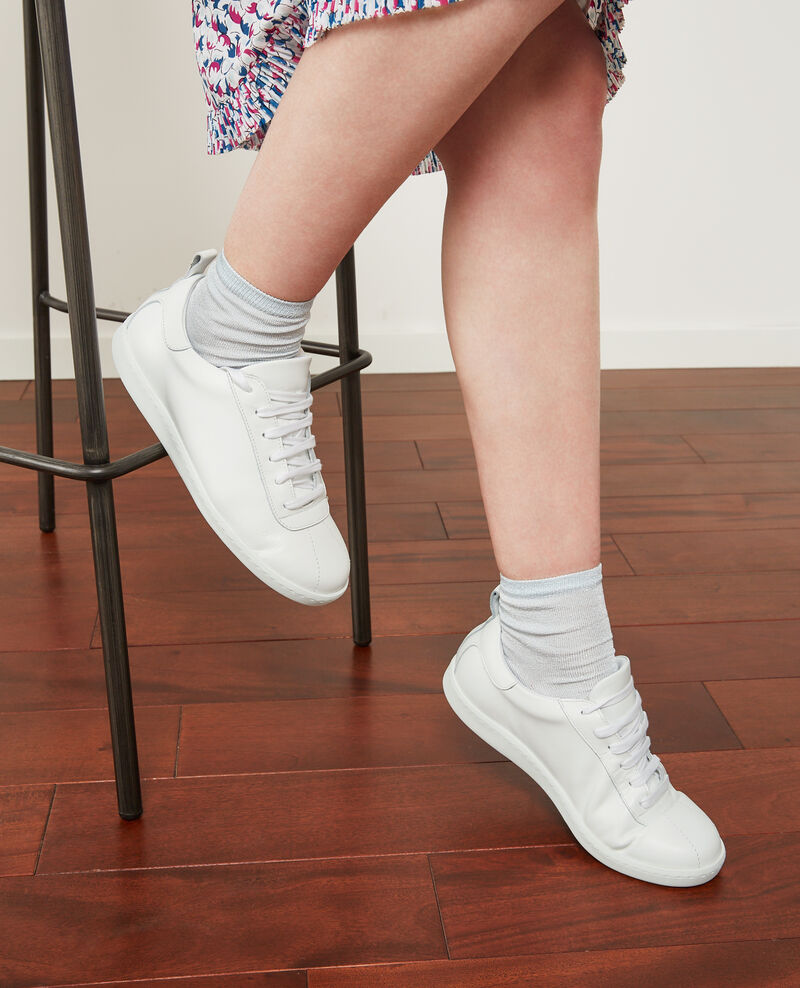 Sneakers de cuero Off white Delaver