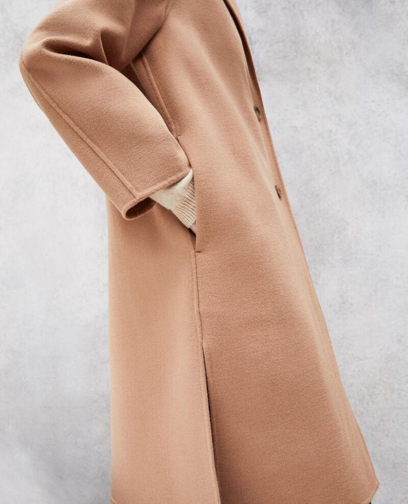 Abrigo de doble cara Caramel beige Irelie