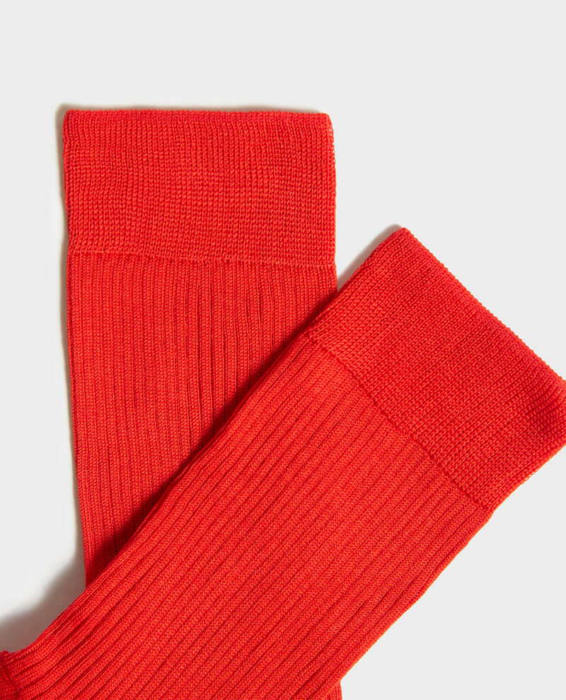 Calcetines Fiery red Loig