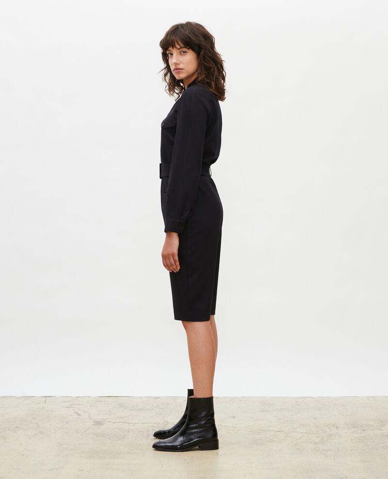 Mono bermuda de lana Black beauty Marbache