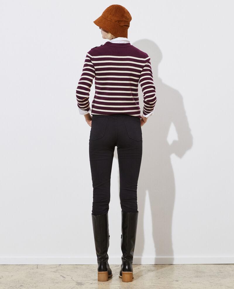DANI - SKINNY - Jeans talle alto con 5 bolsillos Black beauty Pozakiny