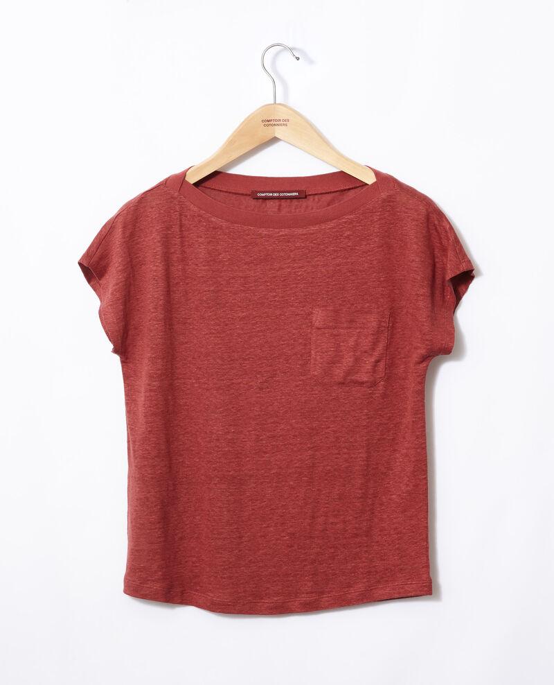 Camiseta con bolsillo Cowhide Granolita
