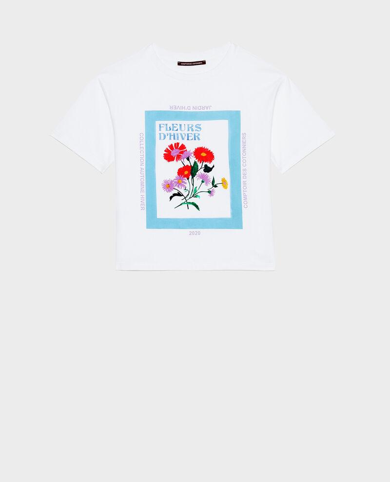 Camiseta amplio de algodón manga corta Forget me not Masny