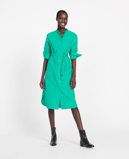 Vestido largo oversize GOLF GREEN