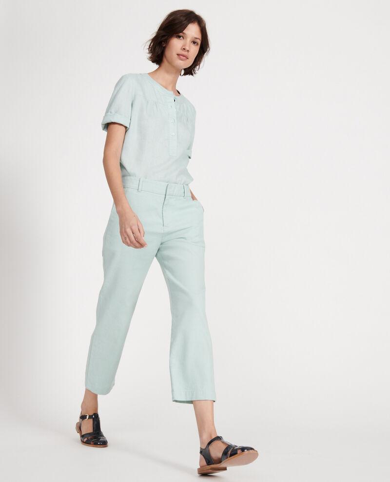 Pantalón de lino Blue haze Laiguillon