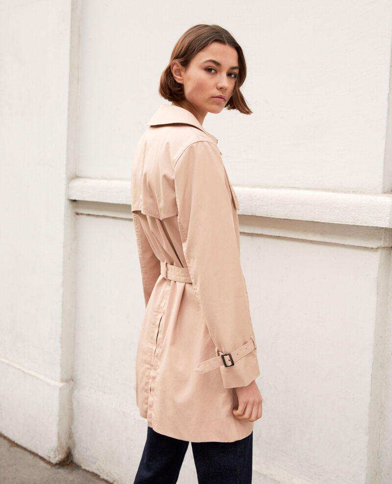 Trench atemporal Pink beige Isore