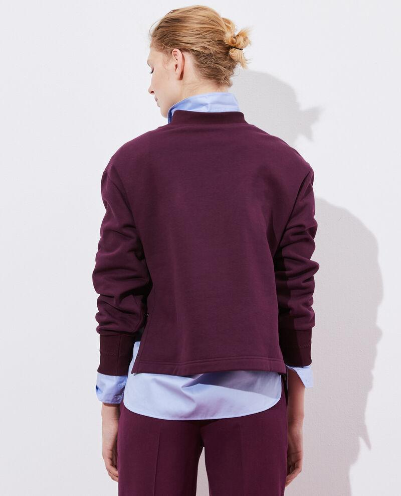 Sudadera de cuello alto Potent purple Pexone