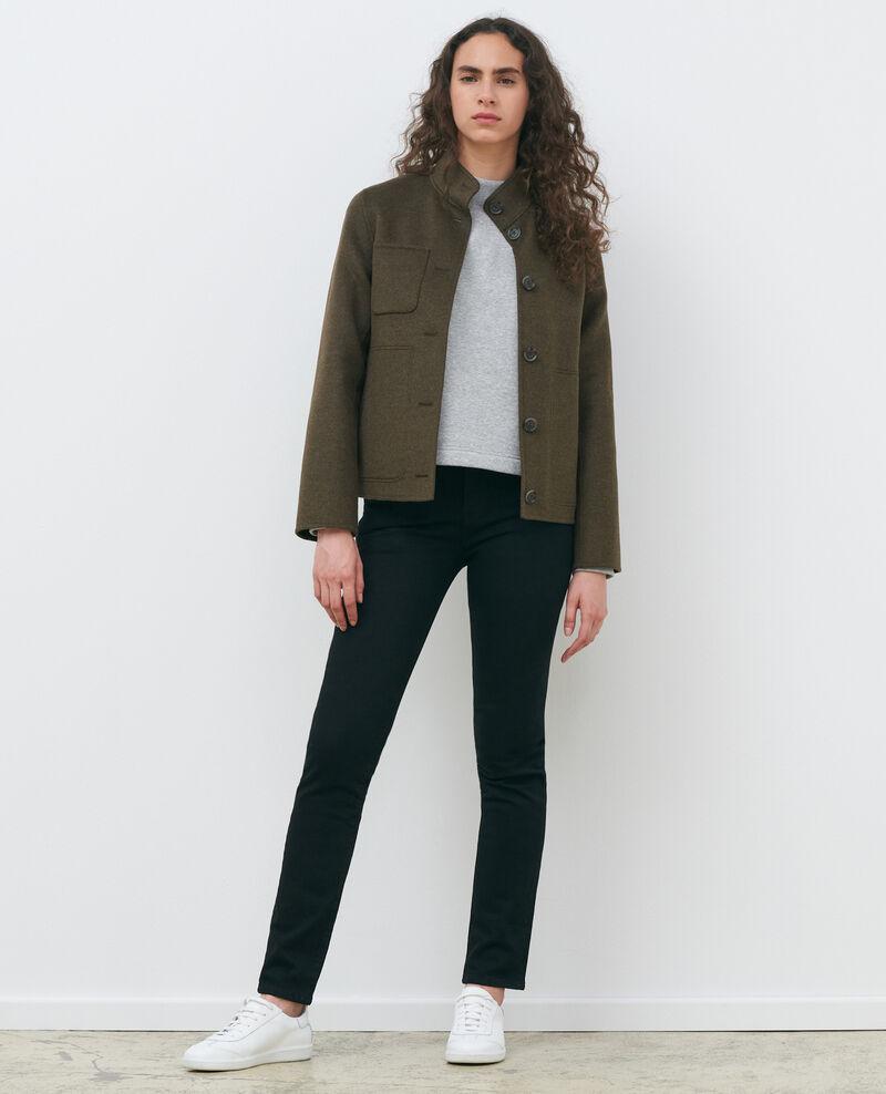 LILI - SLIM - Jeans negro 5 bolsillos Noir denim Pandrac
