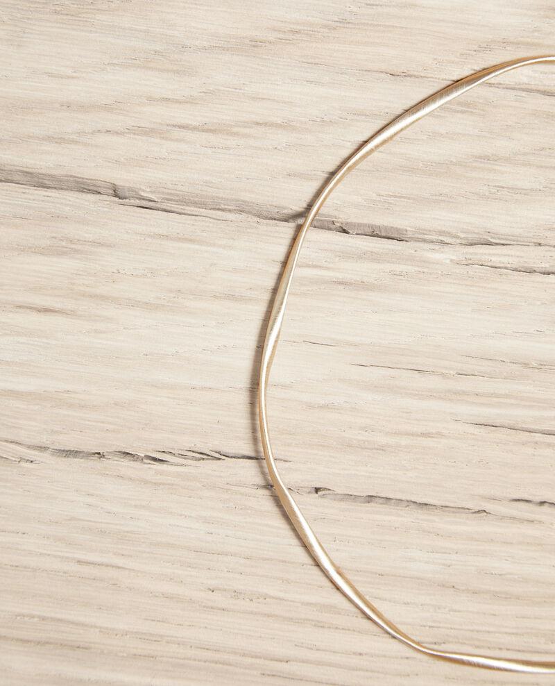 Collar redondo irregular Gold Imonon
