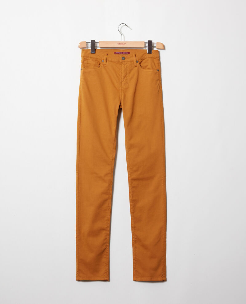 Jeans corte slim Golden brown Jilineto