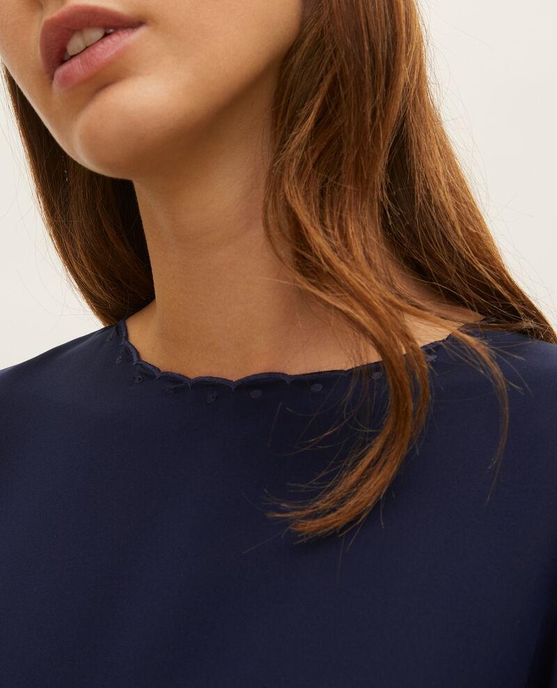 Vestido de seda Maritime blue Lamax
